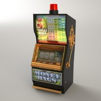 casino slot machine slotmachine 3d max