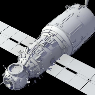 International Space Station 3D Model (page 2) - Pics about ...