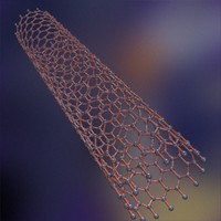 maya carbon nanotube tube