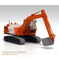 3d bres500 excavator model
