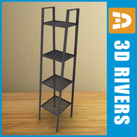 Metallic shelf unit by 3DRivers