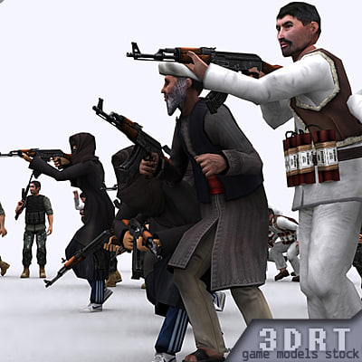 3DRT-Middle-East-crisis-characters-pack.zip