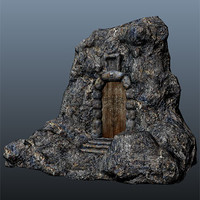 maya fantasy props unity3d