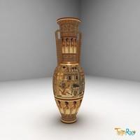 Egypt vase