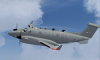 3d raf shadow r1 beech