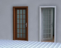 3ds max door 2 handle