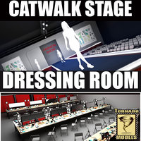 Catwalk and Dressing Room