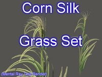 Corn Silk Grass Set 001