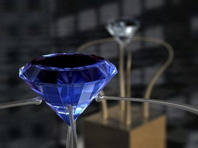 c4d diamonds ruby sapphire - Diamonds... by Ya cov