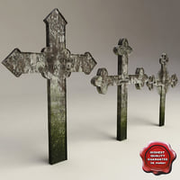 Grave crosses collection