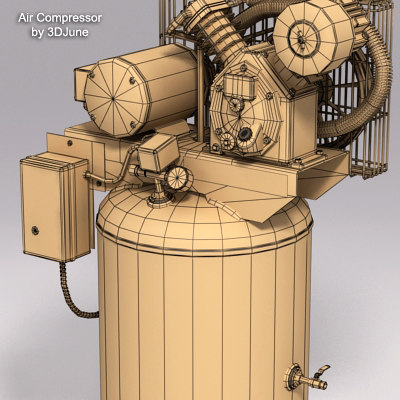 max 5hp air compressor ir-t30 - Air Compressor IR-T30... by 3DJune