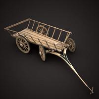 ox-cart 3d max
