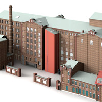3d duisburg küppersmühle model