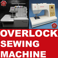 Overlock Sewing Machine Collection