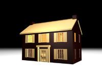home residential 3d obj