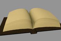 3d model big book