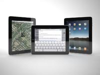 3d model apple ipad itablet