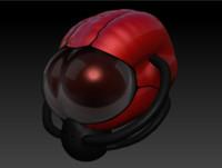 3d alien helmet