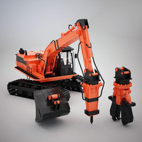Excavator Attachment Collection