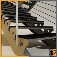 steel structure stair
