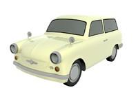 3d trabant model
