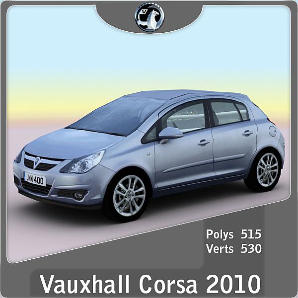 2010 Vauxhall / Opel Corsa