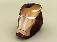 3d max ironman helmet