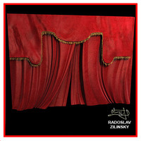 Theatre CURTAIN (high realistic)