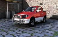 mini pickup 3d model