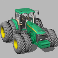 tractor agrimotor 3d model