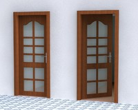 3d c4d door handle