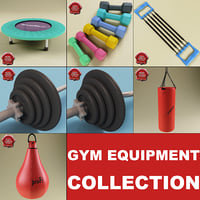 Gym Equipment Collection V2
