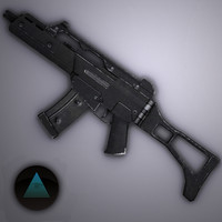 g36c assault rifle obj