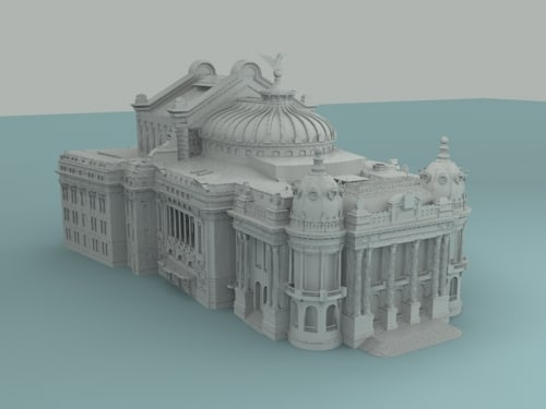 Max opera house Home 3d model