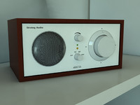 radio henry kloss 3d model