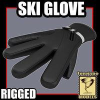 max ski glove