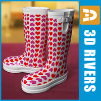 Wellington boots 02 by 3DRivers