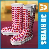 rubber boots wellington 3ds