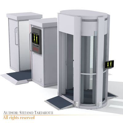 3dsmax airport body - Bodyscan collection... by tartino