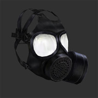 gas mask 3d 3ds