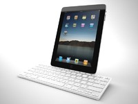 3d model of apple ipad keyboard dock