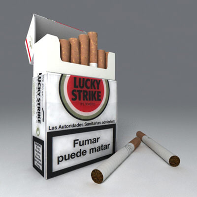 pack smoking 3ds - Smoking Pack... by kekooo