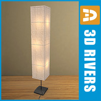 Paper Lamp 01 by 3DRivers