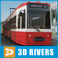 London tramway by 3DRivers
