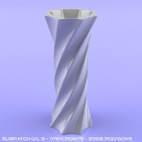 lightwave vase