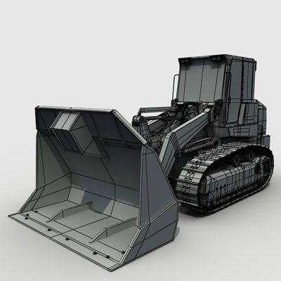 waste handler industrial vehicles 3d max - Waste handler 02 by 3DRivers... by 3DRivers