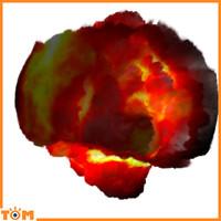 Blender 3d Explosion!