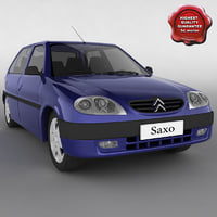 3ds max citroen saxo
