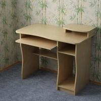 3d model of computer desk