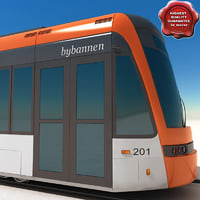 Low-floor light rail vehicle Variobahn Bybanen V2